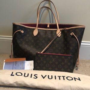 Louis Vuitton Neverfull GM Pivoine